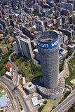 Vodacom Ponte - Blue Vodacom Signage Royalty Free Stock Photography