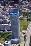 Vodacom Vodafone Ponte Skyscraper Royalty Free Stock Image