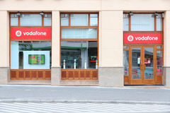 Vodafone匈牙利 免版税库存图片