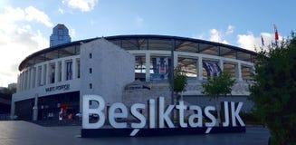 Vodafone-Arena, Hauptstadion zum Besiktas-Fußballteam Stockbild