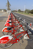 Vodafone Bicing Royalty Free Stock Image