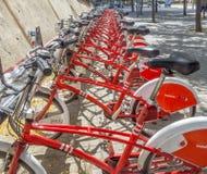 Vodafone Bicing Stock Photo