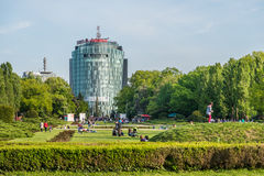 Vodafone budynek obraz royalty free