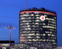 Vodafone Central Dusseldorf, Germany, Editorial picture Royalty Free Stock Photography