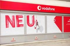 Vodafone-Erneuerung lizenzfreie stockfotografie