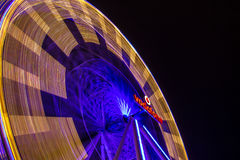 Vodafone Ferris Wheel. The Vodafone sponsored ferris where at the Christmas market in Maastricht, the Netherlands Royalty Free Stock Photos