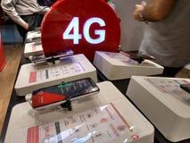 vodafone 4G Photos stock