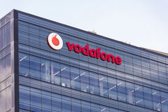 Vodafone Headquarters in Barcelona Stock Images