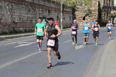 Vodafone Istanbul Half Marathon 2016 Stock Photo