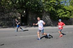 Vodafone Istanbul Half Marathon 2016 Stock Images
