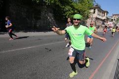 Vodafone Istanbul Half Marathon 2016 Stock Image