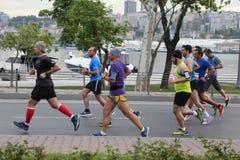 Vodafone Istanbul Half Marathon 2016 Royalty Free Stock Image