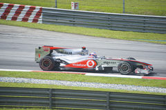 Vodafone McLaren Mercedes Formula One Racing Team Stock Photography