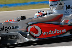 Vodafone McLaren Mercedes MP4- Royalty Free Stock Image