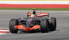 Vodafone McLaren Mercedes MP4- Stock Photo