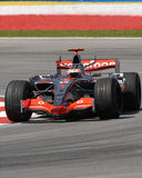 Vodafone McLaren Mercedes MP4- Images stock
