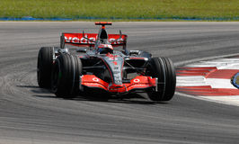 Vodafone McLaren Mercedes MP4- Stock Photos