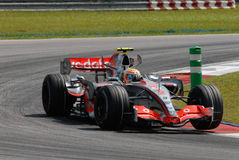 Vodafone McLaren Mercedes MP4- Stock Images