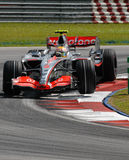 Vodafone McLaren Mercedes MP4- Stock Image