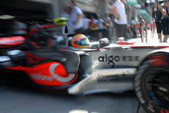 Vodafone McLaren Mercedes MP4- Stock Photography