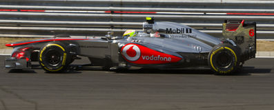 Vodafone McLaren Mercedes, Royalty Free Stock Photo