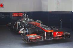 Vodafone McLaren Mercedes sportbil Arkivbild