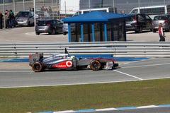 2013 Vodafone McLaren Mercedez, Sergio Perez - Zdjęcia Stock