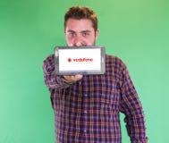Vodafone-Mobile-Netz Stockbilder