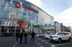 Vodafone, Nowa Zelandia - Zdjęcie Stock