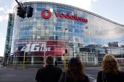 Vodafone - Nya Zeeland Royaltyfria Bilder