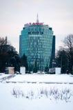 Vodafone ragen hoch Stockbilder