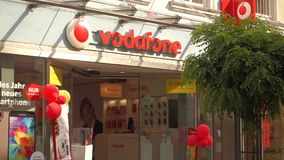 Vodafone stock footage