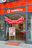 Vodafone store exterior Stock Images