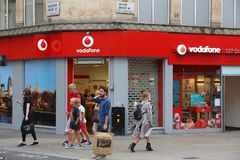 Vodafone UK Stock Image