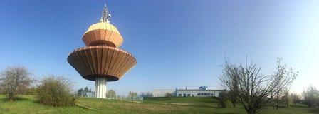 Vodarna Teplice (Wasserwerk von Teplice-Stadt) Stockfotografie