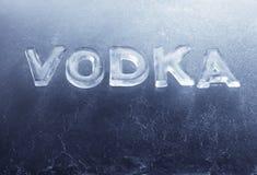 Vodca Foto de Stock