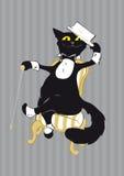 Vodevil Katze Lizenzfreies Stockfoto