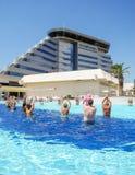 Olympia Hotel in Vodice, Croatia stock image