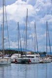 Vodice, Croatia Marina view Stock Photos