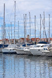 Vodice, Croatia, Marina view Stock Photo