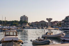 Vodice Croatia Summer Vacation Destination During Sunny Dusk Aug Stock Photo