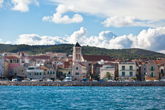 Vodice is a small town on the Adriatic coast in Croatia Stock Photography