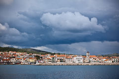 Vodice is a small town on the Adriatic coast in Croatia Royalty Free Stock Images