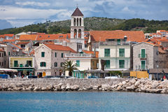 Vodice is a small town on the Adriatic coast in Croatia Stock Image