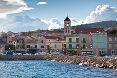 Vodice is a small town on the Adriatic coast in Croatia Royalty Free Stock Photography