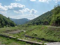 Vodita rzeka, Rumunia zdjęcie royalty free