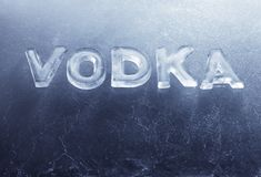 Vodka Fotografia Stock
