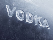 Vodka Photo libre de droits