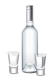 Vodka vektor illustrationer