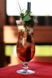 Vodka asiatica con la bevanda del ghiaccio Immagini Stock Libere da Diritti